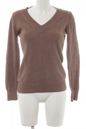 Repeat Strickpullover camel Casual-Look