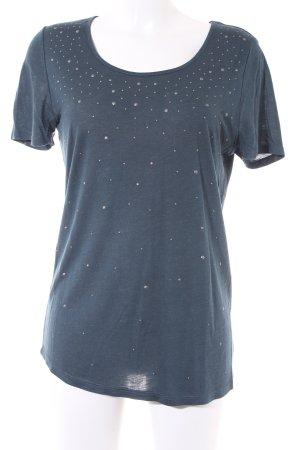 Repeat T-Shirt blau meliert Casual-Look