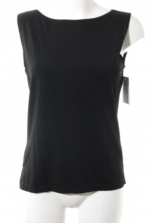 Repeat Camiseta sin mangas negro look casual