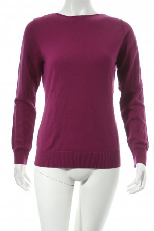 Repeat Wollpullover lila Casual-Look