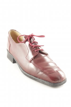 Repetto Budapester karminrot Business-Look