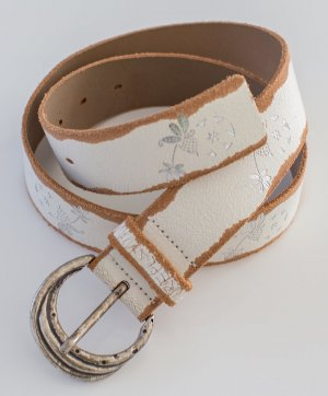 REPLAY ~ 100% LEDER GÜRTEL BELT ~ SIZE 80