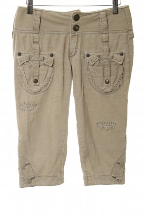 Replay 3/4 Length Trousers cream casual look