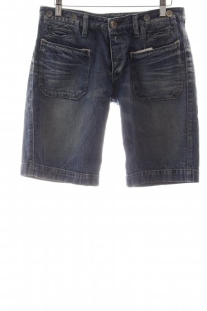 Replay 3/4 Jeans blau Bleached-Optik