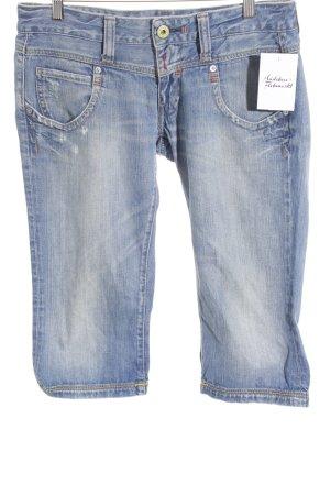 Replay 3/4 Jeans blau Casual-Look