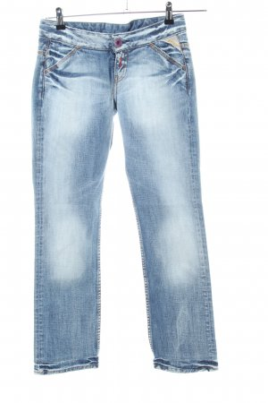 Replay Jeans a 7/8 blu stile casual