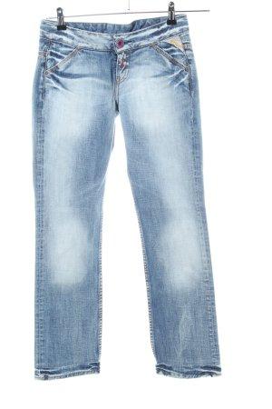 Replay 7/8 Jeans blau Casual-Look