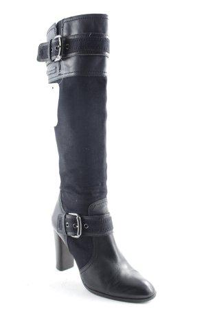 Replay Absatz Stiefel schwarz Casual-Look