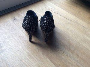 Replay Ankle Boots schwarz Wildleder Größe 38