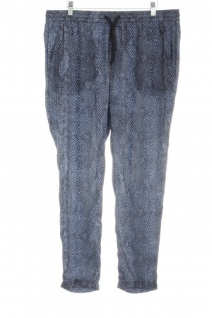 Replay Baggy Pants Animalmuster Reptil-Optik