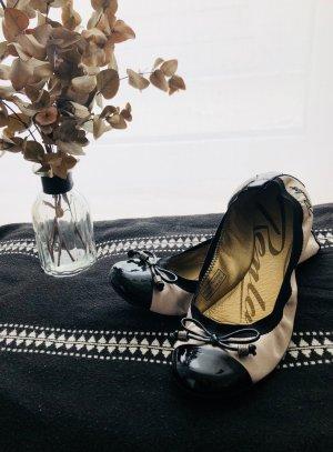 Replay Ballerinas black-cream leather