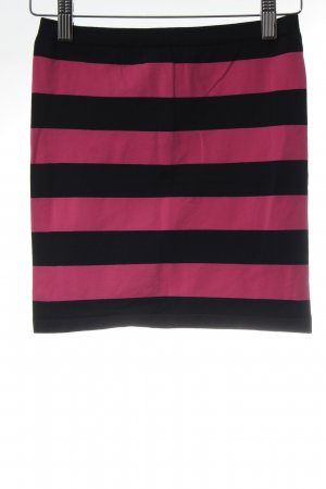 Replay Top a fascia nero-magenta motivo a righe stile casual
