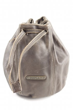 Replay Pouch Bag light grey casual look