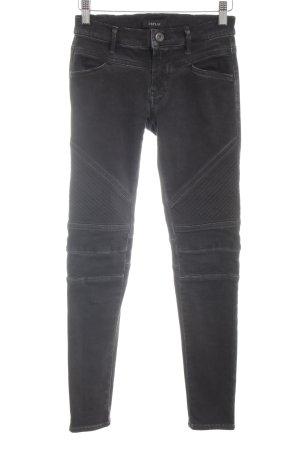 Replay Biker jeans lichtgrijs casual uitstraling