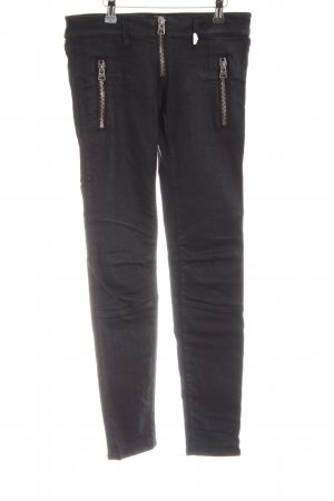 Replay Biker jeans zwart casual uitstraling
