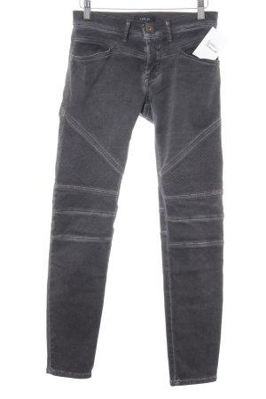 Replay Jeans de moto gris foncé Look de motard