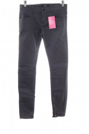 Replay Biker Jeans black allover print casual look