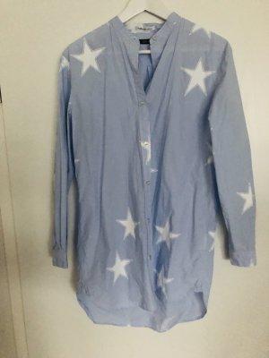 Replay Camicia blusa bianco-azzurro