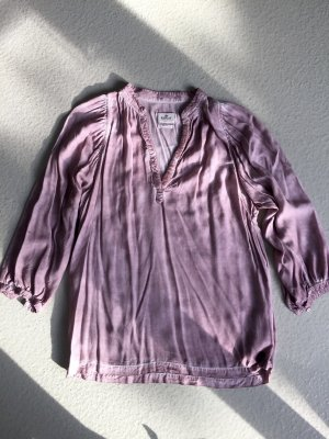Replay Boho-Bluse in alt-rosa