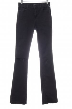 Replay Boot Cut Jeans schwarz Casual-Look