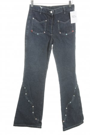 Replay Boot Cut Jeans graublau Casual-Look