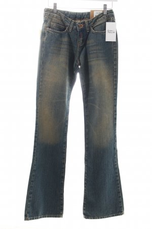 Replay Boot Cut Jeans graublau Street-Fashion-Look