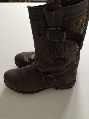 Replay Boots Braun Stiefel 40