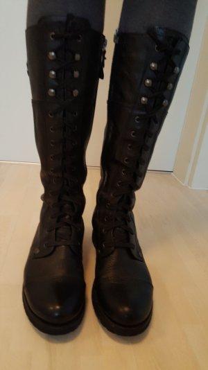 Replay Boots in Schwarz