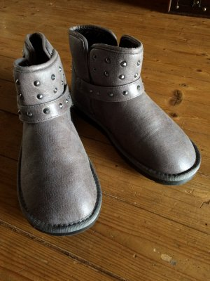 Replay Boots taupe wie neu Gr. 39