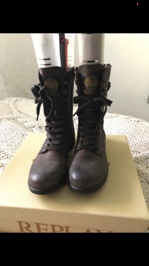 Replay Boots used Look military Gr. 39