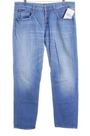 Replay Boyfriend jeans blauw casual uitstraling