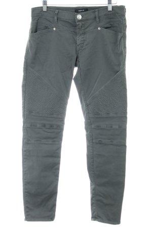 Replay Pantalón de camuflaje gris claro look casual