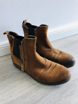Replay Chelsea Boots brown-cognac-coloured