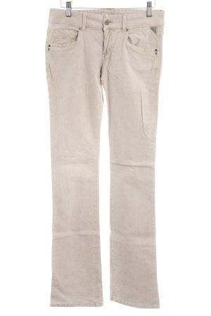 Replay Corduroy Trousers beige casual look