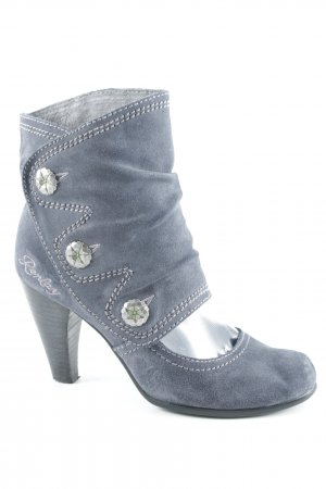 Replay Stivaletto cut out grigio ardesia stile casual