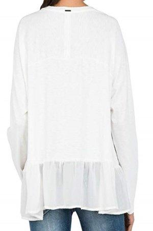 Replay Shirt Tunic natural white