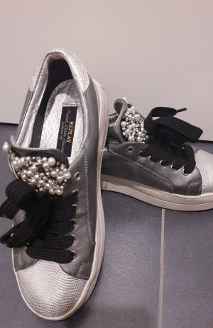 Replay Heel Sneakers silver-colored
