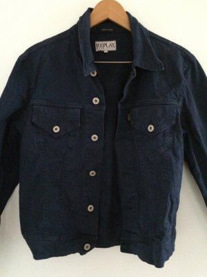REPLAY - dunkle Jeansjacke -S-