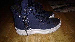 Replay Lace-Up Sneaker dark blue