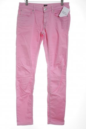 Replay Five-Pocket-Hose pink College-Look