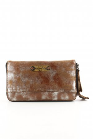 Replay Wallet bronze-colored-silver-colored color gradient casual look