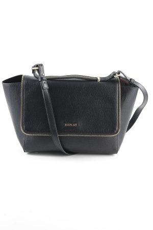 Replay Handtasche goldfarben-schwarz Elegant