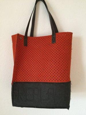 REPLAY Handtaschen mit Ledergriffe