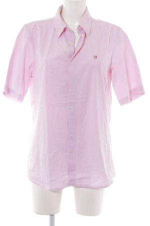 Replay Blusa-camisa rosa claro estampado a rayas look casual