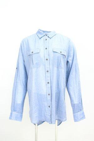 Replay Chemise en jean bleu azur