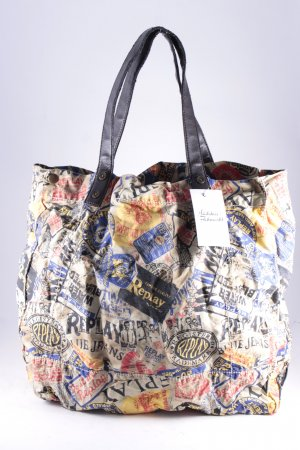 Replay Carry Bag printed lettering street-fashion look