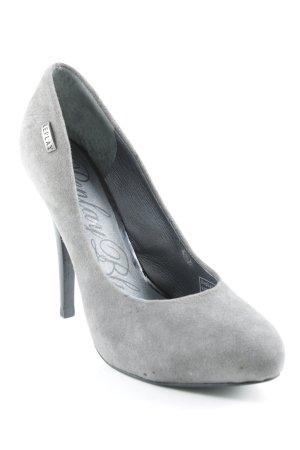 Replay High Heels grau-schwarz Party-Look
