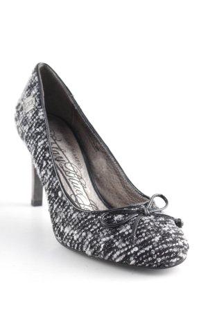 Replay High Heels schwarz-weiß meliert Casual-Look