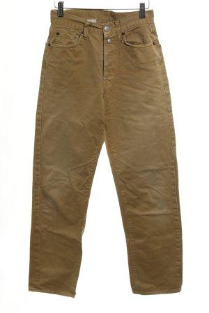 Replay High Waist Jeans beige sportlicher Stil
