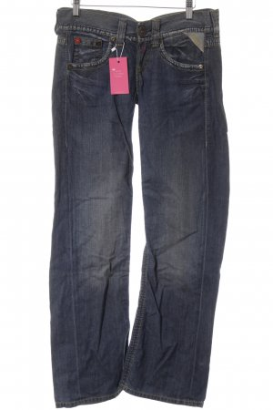 Replay High Waist Jeans blau-gelb Casual-Look